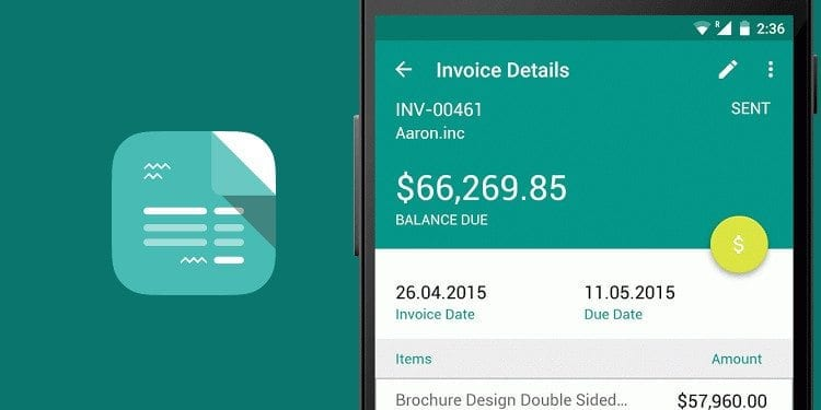 free invoice template apps for business